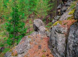 Hillside Stones along FR1105 on the south side of Black Butte near sisters OR photo