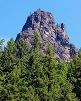 Forest Spire Eagle Rock North Umpqua River east of Glide OR photo