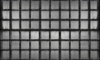 Fondo de textura de patrón de pared de vidrio de ladrillo foto