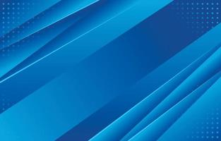 Abstract Modern Blue Background vector