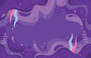 Modern Lavender Abstract Background vector