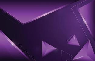 Fondo abstracto lila 3d vector