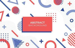 Abstract Three Colors Background vector