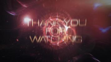 obrigado por assistir o trailer cinematográfico futurista de ficção científica video