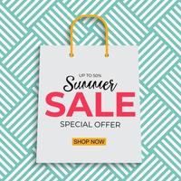 Tropical Natural Palm Summer Sale Background vector