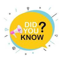 ¿Sabías un dato interesante? vector