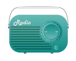 Old Radio Tuner Icon vector