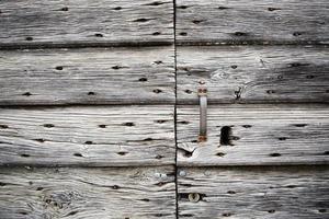 Foto en primer plano de la tabla de madera gris
