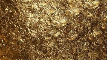 The dark gold foil texture background photo