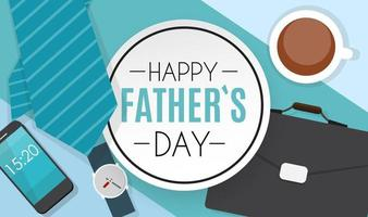 feliz dia del padre fondo mejor papá vector