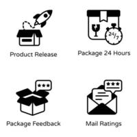 Mailing and Freight Services vector