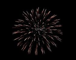 Fireworks spark background photo