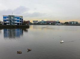 The Salford Quays in Geater Manchester UK photo