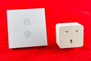 Smart WiFi switch with support for control via mobile  phone application photo