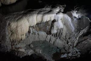 cuevas subterráneas de abjasia foto