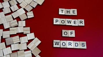 The pwer of Words photo