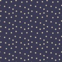Seamless pattern with stars on a dark blue background. Seamless Scandinavian Star Pattern. vector