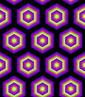 Neon Colour hypnotic background Abstract Seamless Pattern vector