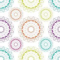 Ilustración de vector de fondo abstracto de patrones sin fisuras
