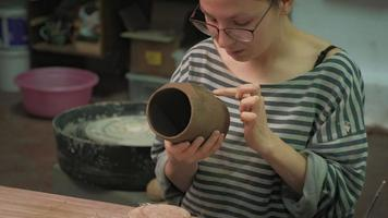 Crafting a Ceramic Mug video