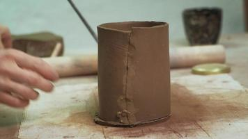 Crafting a Clay Cup video