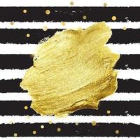 Abstract Golden Paint Splash Background vector