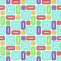 Colored Abstract Background Seamless Pattern vector