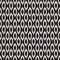 patrón transparente de fondo abstracto blanco y negro vector