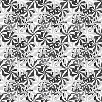 Black and White Abstract Background Seamless Pattern vector