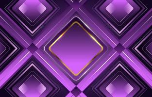 Lavender Golden Luxury Diamond Geometrical Glowing Gradient vector