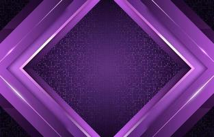 Lavender Square Glowing Line Blink vector