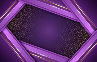 Lavender Glowing Blink Golden Minimalism Luxury Simple vector