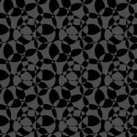 patrón transparente de fondo abstracto negro y gris vector