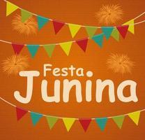 Festa Junina Holiday Background vector