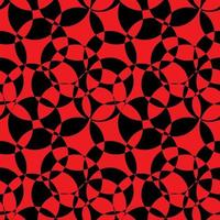Black and Red Abstract Background Seamless Pattern vector