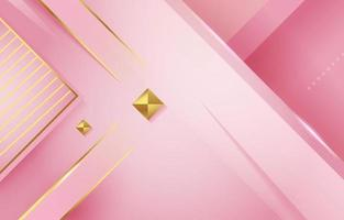 Pink Gold Background vector