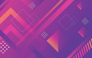 Gradient Lavender Geometric Background vector