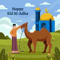 Eid Al Adha Celebration vector