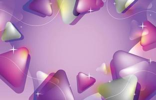 Lilac Abstract Background Template vector