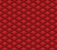 Button Red Leather seamless pattern Abstract Luxury background vector illustration