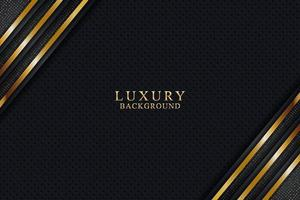 Elegant luxury background concept with black and gold texture vector