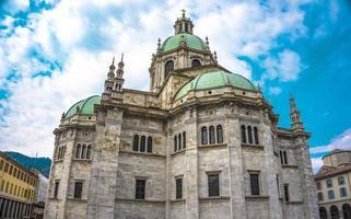 Exterior view of Como Cathedral Duomo di Como photo