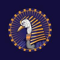 Toth Egyptian Gods Vector Artwork