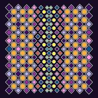 Graphic of colorful abstract geometric design vector
