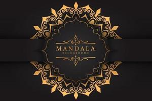 mandala luxury background vector