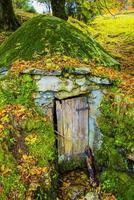 door of an ice house photo