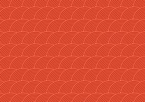 japanese themed pattern background vector