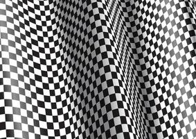 realistic abstract checkered background design vector