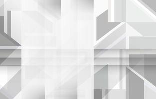 White Composition of Rectangle Shapes Background vector