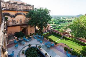 Neemrana Fort Rajasthan India photo